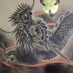 漆額パネル「倶利伽羅龍王」