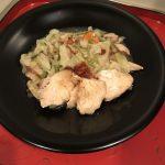 H30.10.23 野菜も鶏肉も冷凍しているんです(娘)